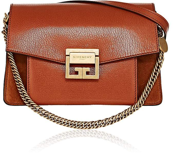 Givenchy Women's GV3 Leather & Suede Shoulder Bag