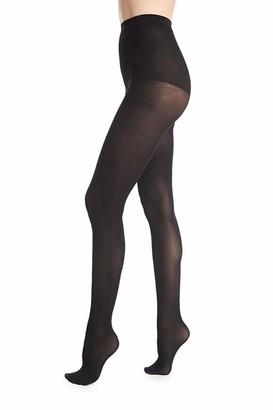 DKNY Donna Karan Suede Jersey Ct DOB110 Black Tall