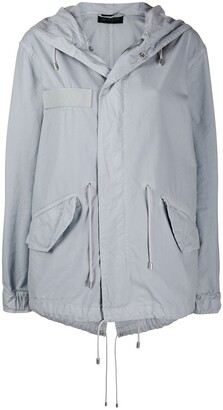 Mr & Mrs Italy Jazzy short-length parka