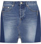 SJYP Steve J & Yoni P - Denim Mini Skirt - Mid denim