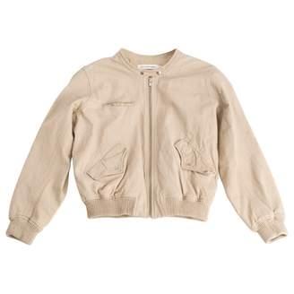 Etoile Isabel Marant Beige Leather Leather jackets