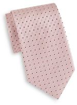 Saks Fifth Avenue Boxed Square-Patterned Silk Tie