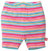 Zutano Size 6M Multistriped Bike Short in Pink/Blue