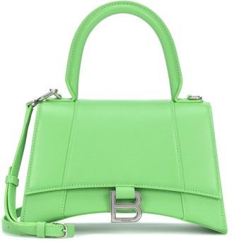 Balenciaga Hourglass S leather shoulder bag