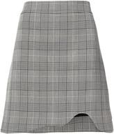 Thumbnail for your product : Ganni Checked Jacquard Mini Skirt
