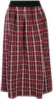 I'M Isola Marras check midi skirt