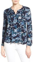 Lucky Brand Women's Floral Vines Top