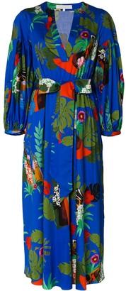 Borgo de Nor Mia floral print flared dress