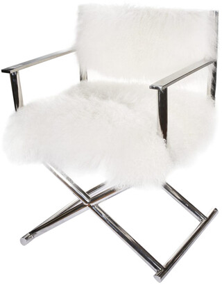 A&B Home A & B Home Mongolian Fur Director Chair
