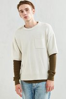 Urban Outfitters UO Cotton Crew Neck Short Sleeve Sweater