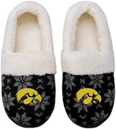 Unbranded Women's Iowa Hawkeyes Ugly Knit Moccasin Slippers