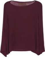 Enza Costa Stretch-jersey top