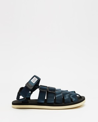 Suicoke Blue Sandals - SHACO Sandals - Unisex - Size M8/W10 at The Iconic