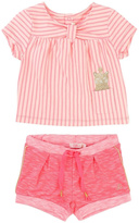 Billieblush Striped Tee Outfit Set