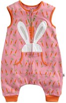 BOOPH Baby Girls Rabbit And Carrots Wearable Blanket For 0-2 Years Sleeping Sack