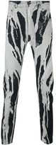 Rick Owens bleached effect trousers - men - Cotton/Polyester - 30