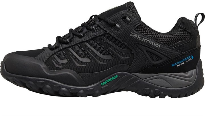 sale retailer 574ec d4e18 Mens Helix Low Weathertite Hiking Shoes Black