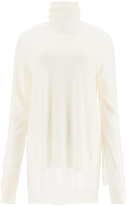 Marni Double Layer Turtleneck Sweater