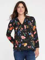 Old Navy Maternity Pintuck Blouse