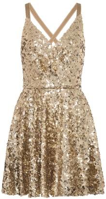 Dolce & Gabbana Sequined minidress