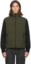 The Very Warm SSENSE Exclusive Khaki Quilted Vest