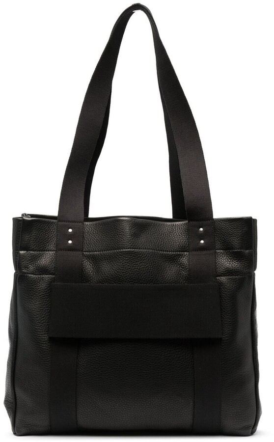 Rick Owens Trolley pebbled-effect tote