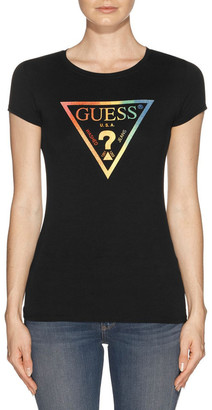 GUESS Short Sleeve Pride Triangle R3 Tee