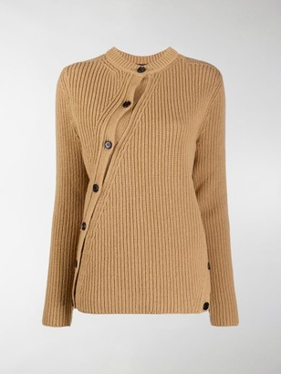 Colville Cable-Knit Twisted Wool Cardigan