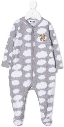 MOSCHINO BAMBINO Cloud Print Pajamas