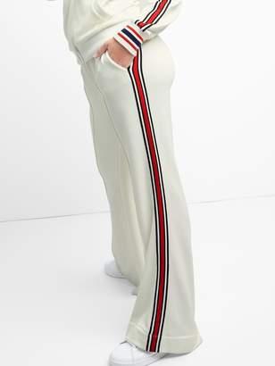 Gap Side Stripe Wide-Leg Track Pants