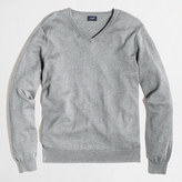 J.Crew Factory Harbor cotton V-neck sweater