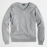 J.Crew Factory Slim harbor cotton V-neck sweater