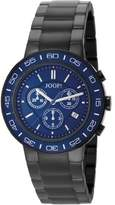JOOP! Joop Insight Men's Quartz Watch with Blue Dial Chronograph Display and Black Stainless Steel Bracelet JP100911F03