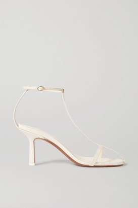 Neous Jumel Leather Sandals - Cream