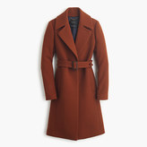 J.Crew Double-cloth belted trench coat