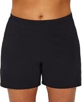 Leilani Plus Size Waikiki Solids Swim Shorts