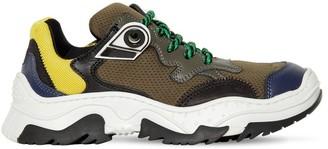 N°21 Leather & Mesh Sneakers