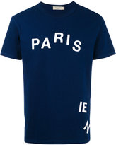 MAISON KITSUNÉ 'parisien' print T-shirt - men - Cotton - S