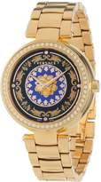Versace Women's VK6040013 Mystique Foulard 38mm Rose Gold Ion-Plated Stainless Steel Quartz Diamond Watch