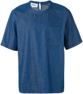 Sunnei chambray T-shirt - men - Cotton - S