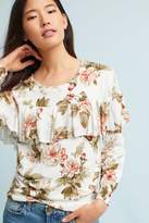 Harlyn Ritchie Floral Ruffled Sweater