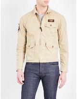 Polo Ralph Lauren Back-print Cotton Flight Jacket