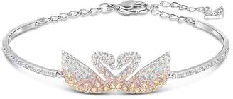 Swarovski Iconic Swan Bangle Bracelet
