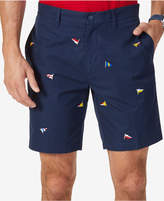 """Nautica Men's Classic-Fit Embroidered 8.5"""" Deck Shorts"""
