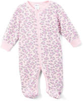 Baby Steps Pink Leopard Footie Pajama - Infant
