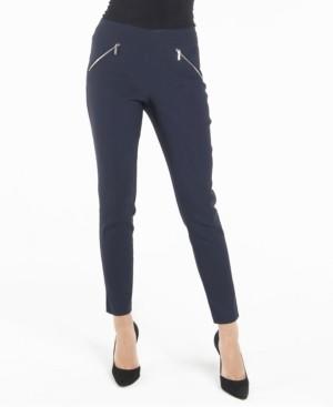 Nanette Lepore Nanette nanette Pull On Leggings with Front Zippers