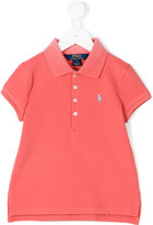 Ralph Lauren slit sides polo shirt - kids - Cotton/Spandex/Elastane - 2 yrs