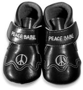 Silly Souls Peace Size 0-6 months Shoes in Black