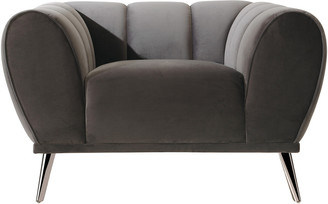Chic Home Sybel Grey Club Chair