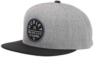 Hurley Men's Union Patch Snapback Baseball Cap